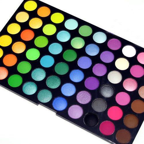 120 kleuren oogschaduw palette