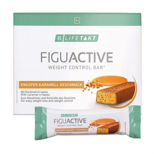 Crunchy caramel bar van Figu Active