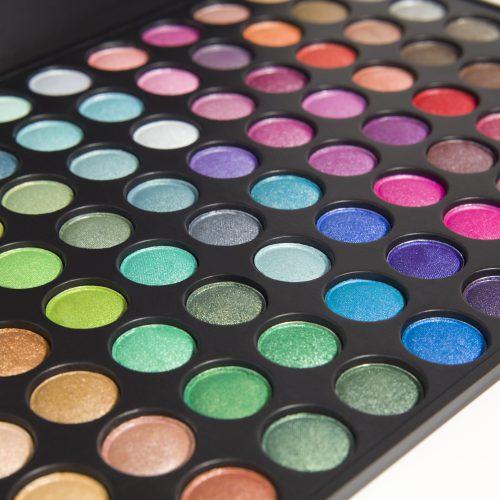88 kleuren oogschaduw palet mate