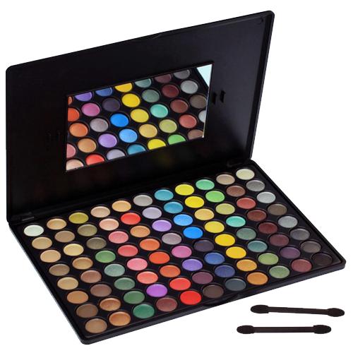 88 kleuren oogschaduw palet