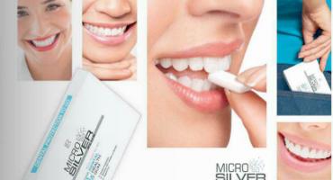 Witte tanden met hulp van Microsilver kaugom