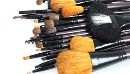 make up kwasten set