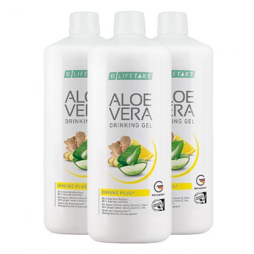 Aloe vera drinking gel immune plus 3set