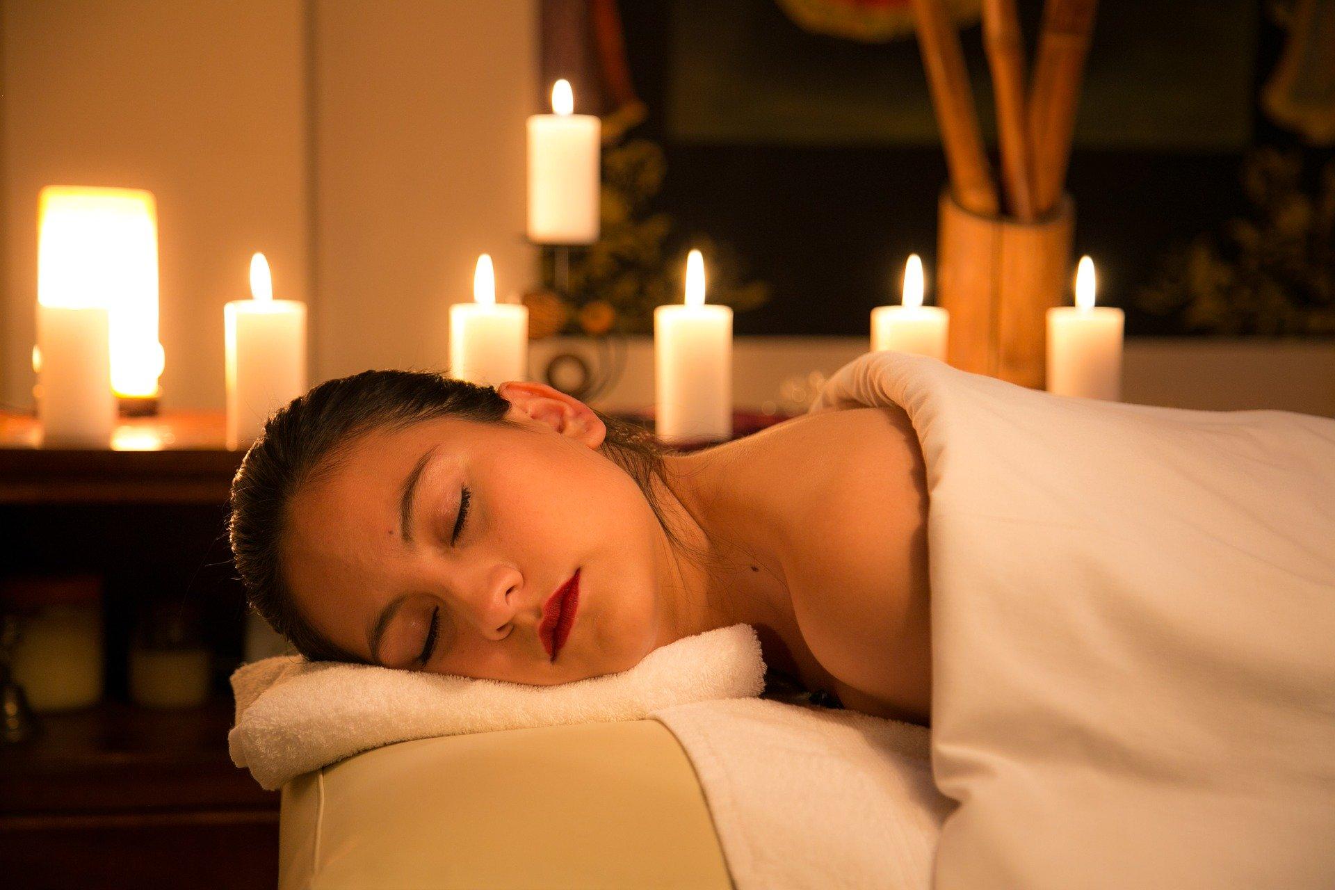 Speciale massage voor een goede klant